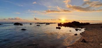 coucher de soleil de Saint-Pierre
