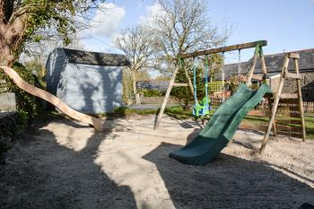 Outdoors play area