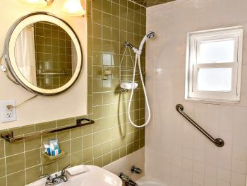 Upstairs Apartment Bathroom