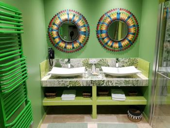 Vue salle de bains Suite Livingstone