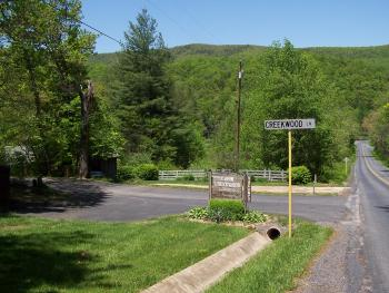 Approaching the Office from the Blue Ridge Parkway