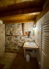 Salle de bain chambre  Lac Bleu