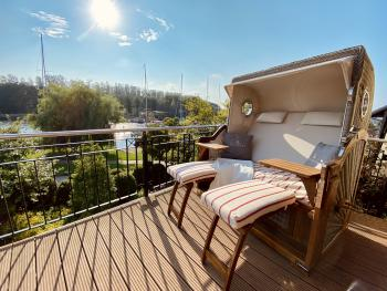 Terrasse mit Ostseeblick