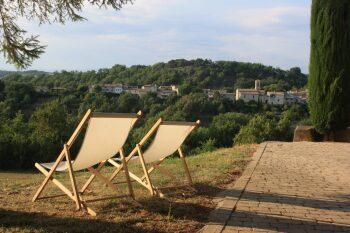 Vue sur le village de Niozelles