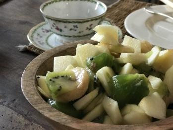 Salade de fruits - fresh fruits salad