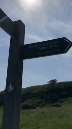 Moray Coast Trail, a stunning walk in either direction to Portknockie and Buckie