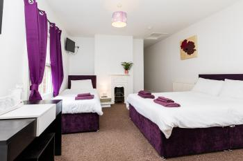 Quad room-Ensuite-Sleeps 4 (Room Only) - Base Rate