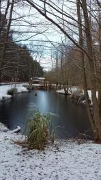 Fishing Lake in Winter