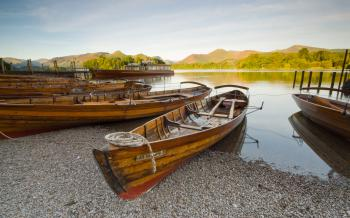 Boating in The Lake District