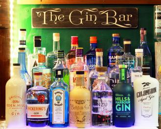 Choose from our  selection of over 70 Gins !