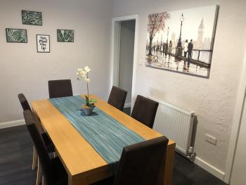 Ideal Home Away in Bury - Dining Area