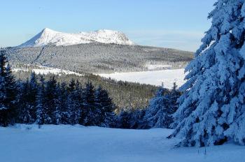 Mont Mézenc enneigé