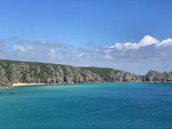 View from Minack Theatre in West Cornwall