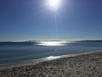 La plage à 1 minutes de la maison