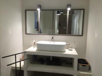 La salle de bains de la chambre 1