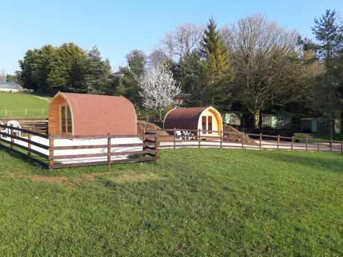 Glamping Pods & Shepherds Huts