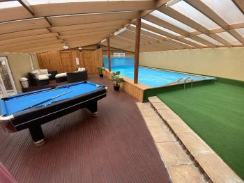 Swimming pool and leisure room