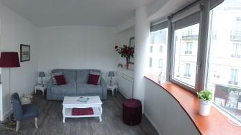 Espace salon/chambre