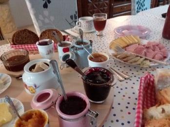 Petit-déjeuner locavore et maison