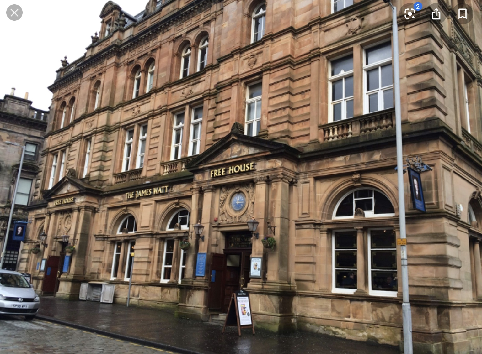 Wetherspoons James Watt Pub in Greenock
