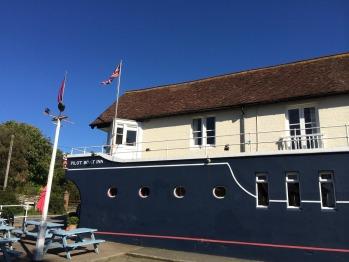 The Pilot Boat Inn - it looks like a boat