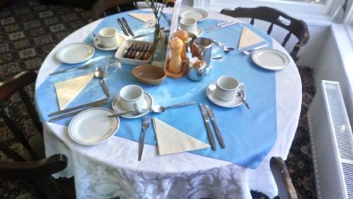 Full English breakfast or continental