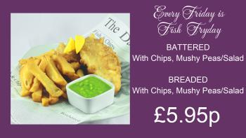 Every Friday only £5.95 !!