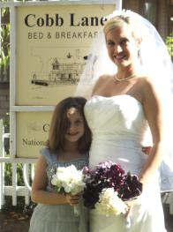 Cobb Lane BB Bride and flower girl