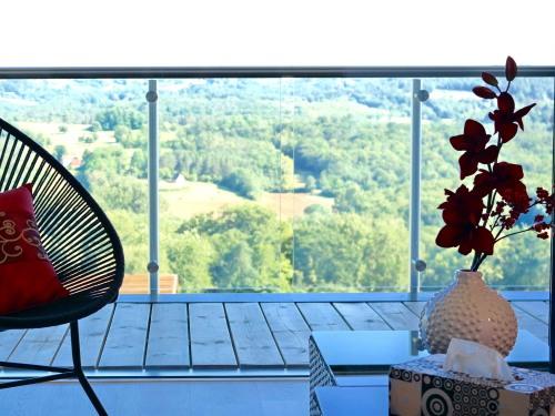 Suite-de Luxe-Salle d'eau-Terrasse-Suite 5 - Tarif Myweb