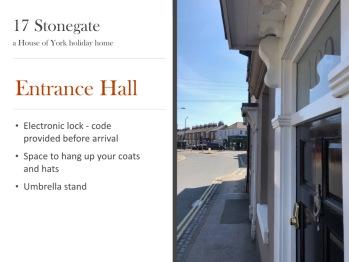 Entrance and hall summary