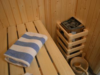 Sauna in Ensuite (1 Bed Lodges Only)
