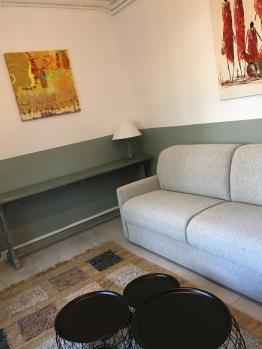 Canapé lit salon suite Chêne