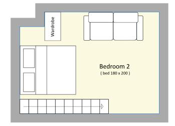 Plan chambre 2