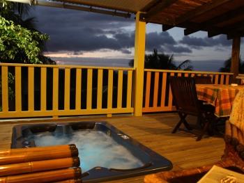 "Bungalow ""Tobago"" avec Spa privatif"