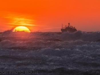Watch the fishermen go off to sea at sunrise