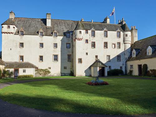 Traquair House Courtyard