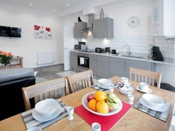 apartment 3 open plan kitchen diner