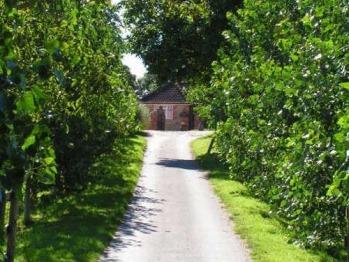 Driveway to Blounts Court Farm