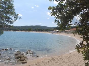 plage de Favone accessible a pied depuis le jardin