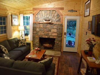 Waterfall Cottage living room