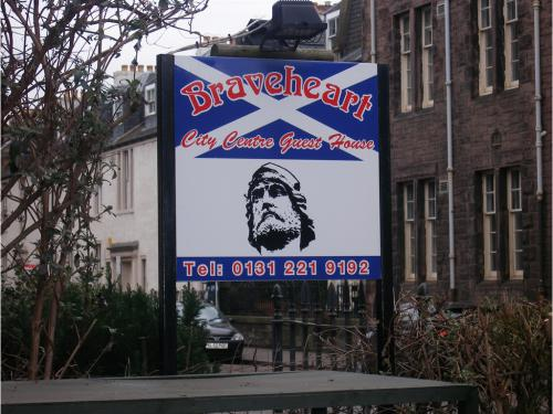 Braveheart Sign