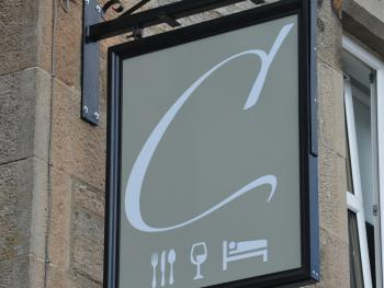 Our Hanging Sign