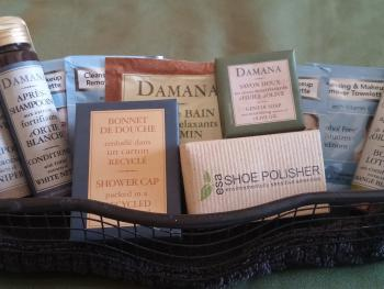Enjoy luxurious Damana bath products