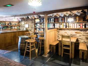 Plenty of sitting space to relax in the bar