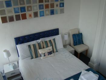 Double room non ensuite with sea view and balcony