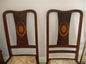 Decorative chair-backs, Principal Bedroom, Carlton Seamill