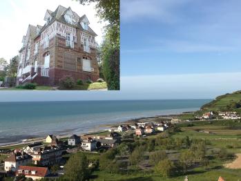 Le Grand Large - Le Grand Large : vue et façade de la Villa d'Albion