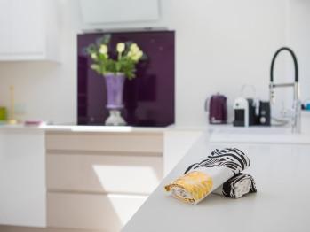 Kitchen - with oven, hob, dishwasher, washer/dryer and fridge