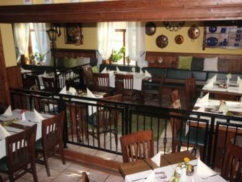 Restaurant Blick aus Vereinszimmer bis zu 35 Personen