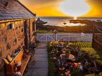 Beautiful sunrises to enjoy from the Pew, the decking, the shorefront or from inside.